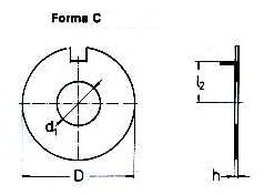 Saibe de siguranta forma C